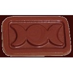 Triple Moon Candy, Confectionery and Triple Goddess Chocolate Mold
