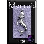 Sterling Silver Mermaid Charm Pendant