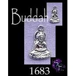 Sterling Silver Small Buddha Necklace