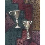 Sterling Silver 3D Goblet Large Chalice Charm