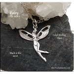 Sterling Silver Nymph Fairy Charm
