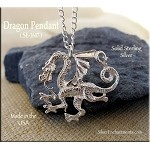 Sterling Silver Grand Dragon Pendant