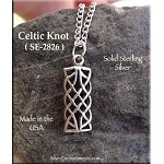Sterling Silver Niam Love Knot Charm - Celtic Bracelet, Necklace, Earring Charm - Celtic Jewelry