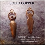 COPPER Goddess Charm