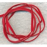 RED Micro Fiber Suede Cord, Red Ultra Suede Lace Cord