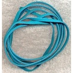 Aquamarine Turquoise Micro Fiber Suede Ultra Suede Lace Cord