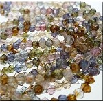 LUSTER Mix 4mm English Cut Beads