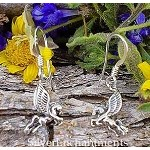 Sterling Silver Pegasus Earrings
