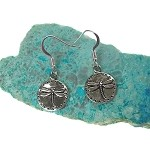 Silver Dragonfly Earrings, Dragonfly Jewelry