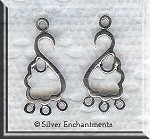Chandelier Earring Parts and Danglers | Silver Enchantments