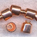 Copper End Cap with 5.5mm Opening