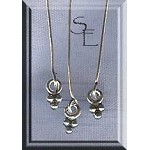 Sterling Silver Headpins with Dagg Drop (10)