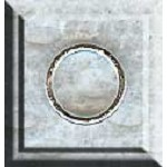 Sterling Silver Closed Jump Ring, 8mm, 19-gauge