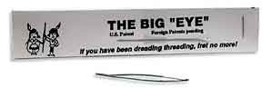 Long Wide Eye Beading Needle - Big Eye Needle