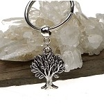 Tree Keychain, Druidic Tree Key Ring