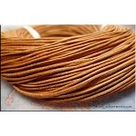 1.5mm Tan Natural Leather Cord, 10-feet