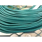 2mm Green Teal Leather Cord, 10-feet