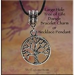 SOLDOUT - Tree of Life Large Hole Dangle Charm-Pendant, European-type Jewelry