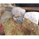 Unique Moonstone Ring, Size 9
