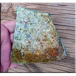 Cat Mountain Chrysocolla Slab, Cabbing-Lapidary Stone