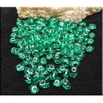 Super Duo Beads, EMERALD, Czech SuperDuo Seed Beads
