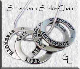 affirmation rings | affirmation charms | affirmation necklace pendant