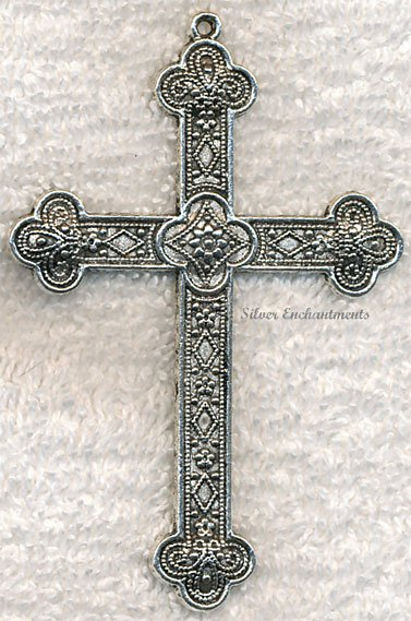 Soldout large ornate cross necklace 3 large ornate cross necklace aloadofball Gallery