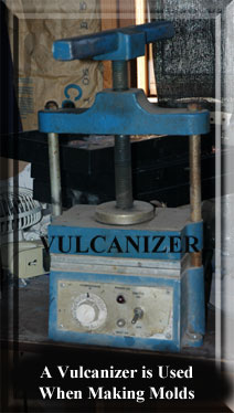 vulcanizer -- used when making molds from a master
