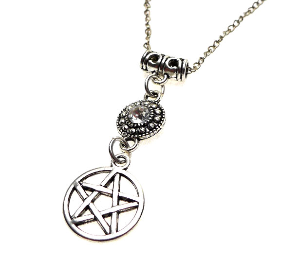 Crystal Pentacle Necklace
