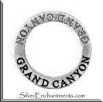 Sterling Silver GRAND CANYON Affirmation Charm
