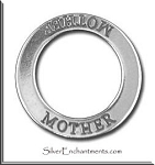 Sterling Silver MOTHER Affirmation Charm