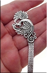 Silver Pewter Phoenix Bookmarks Fantasy Bookmark Parts 3 per bag