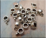 SOLDOUT - Plain Ring Bails with 3mm Opening (20)