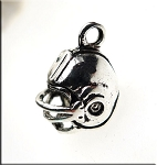 3D Football Helmet Charm Football Sports Charms (1)