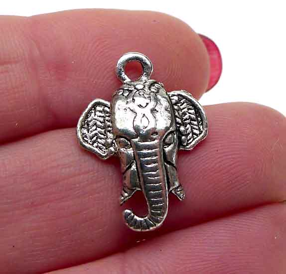 Elephant Charm Indian Elephant Jewelry