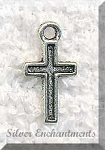 ZSOLDOUT / Small Simple Cross Charm
