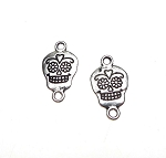Sugar Skull Jewelry Connector, Skull Jewelry Findings (1)