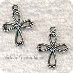 SOLDOUT - Double Sided Cross Charm