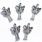 Fairy Angel Charms, Antique Silver (10)