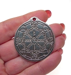 Large Kabbalah Tree of Life Pendant Necklace