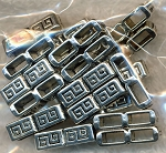 2-Strand Greek Key Motif Jewelry Separators (20)