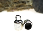 SOLDOUT - Plain Bell Jewelry End Caps with 6mm Opening (10)