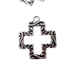Southwestern Cross Necklace - Everyday Silver Cross Jewelry