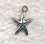 Starfish Charm, 16x12mm Starfish Jewelry