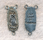Double-Sided Lady of Guadalupe Rosary Y, 30x14mm