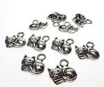 Cat Charms, Kitten Charms (10)