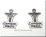 Double-Sided Combat Medic Charm - Both Sides Shown