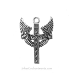 Winged Cross Pendants (5)