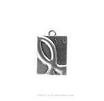 Hope Ribbon Charms, Plaque (10)