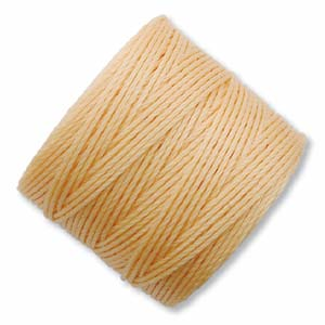 LIGHT PEACH S-Lon Beading Cord Superlon Beading Thread